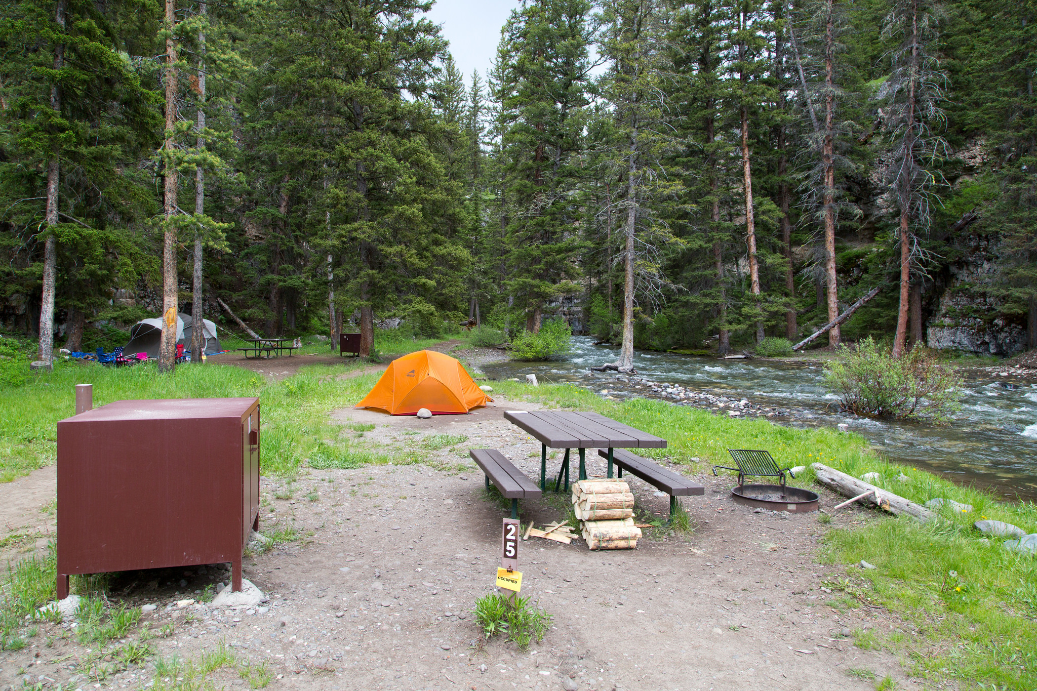Camping Part Two Yellowstone National Park Gardiner