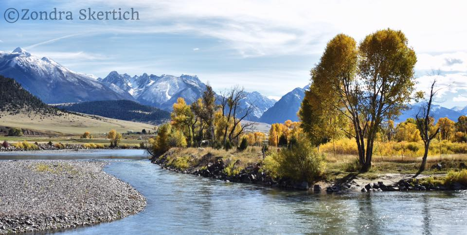 YellowstoneRiver ParadiseValley Fall ZondraSkertich