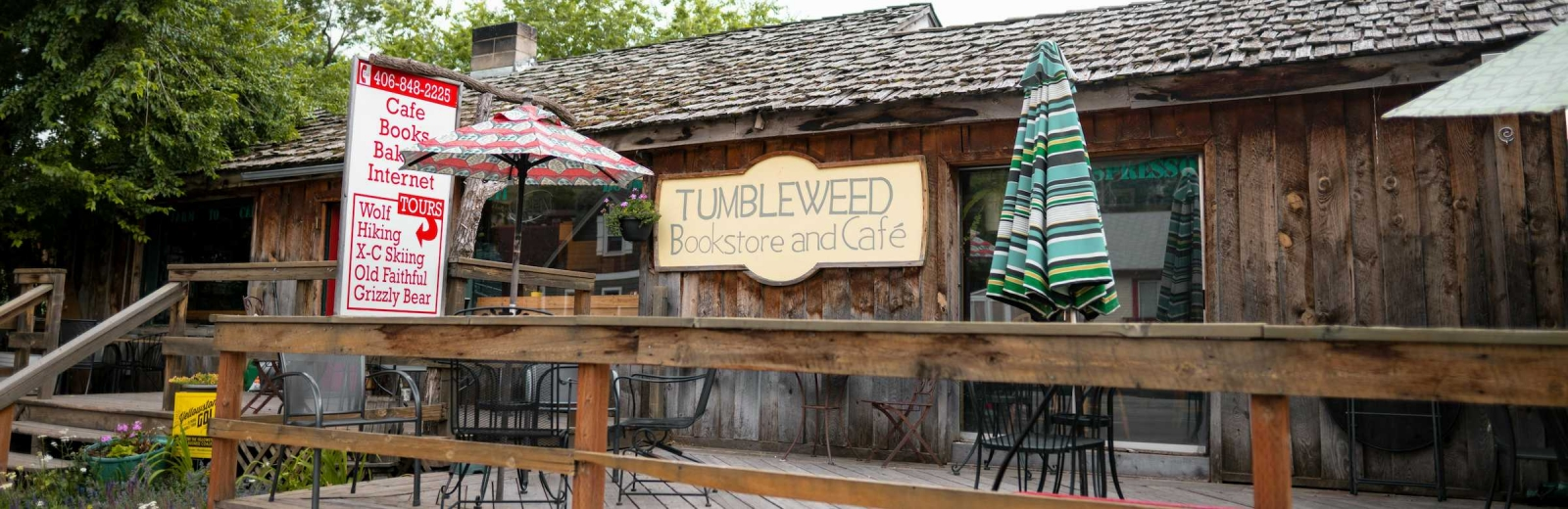 Tumbleweed Bookstore and Cafe
