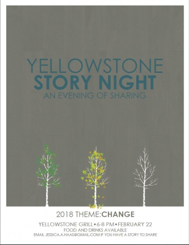 Yellowstone Story Night: An Evening of Sharing