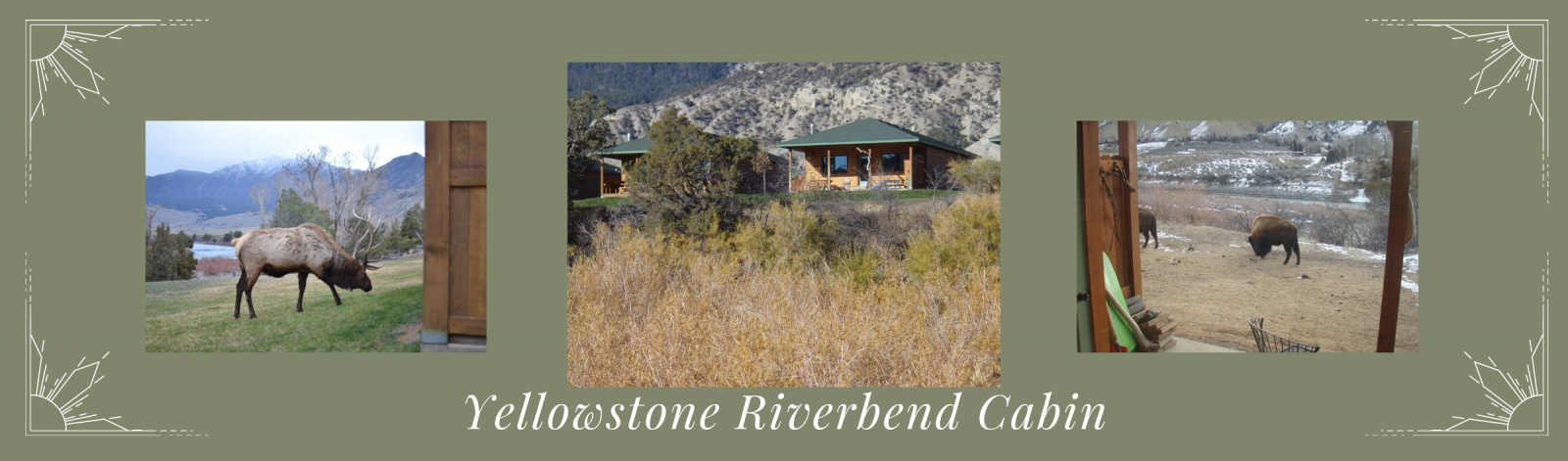 Yellowstone Riverbend Cabin