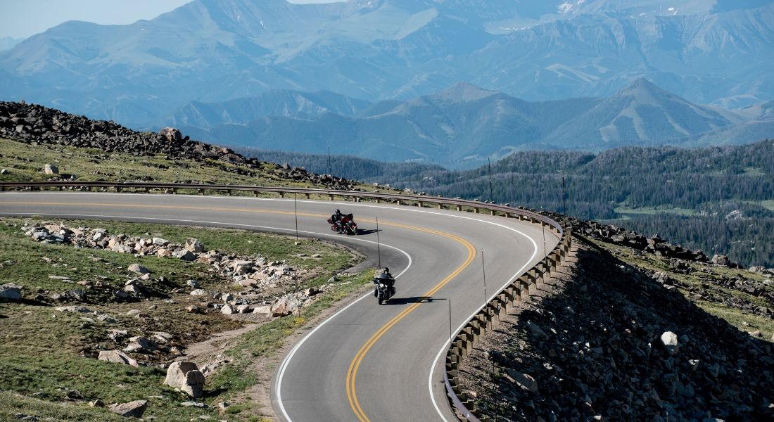 Beartooth Highway courtesy of MTOT