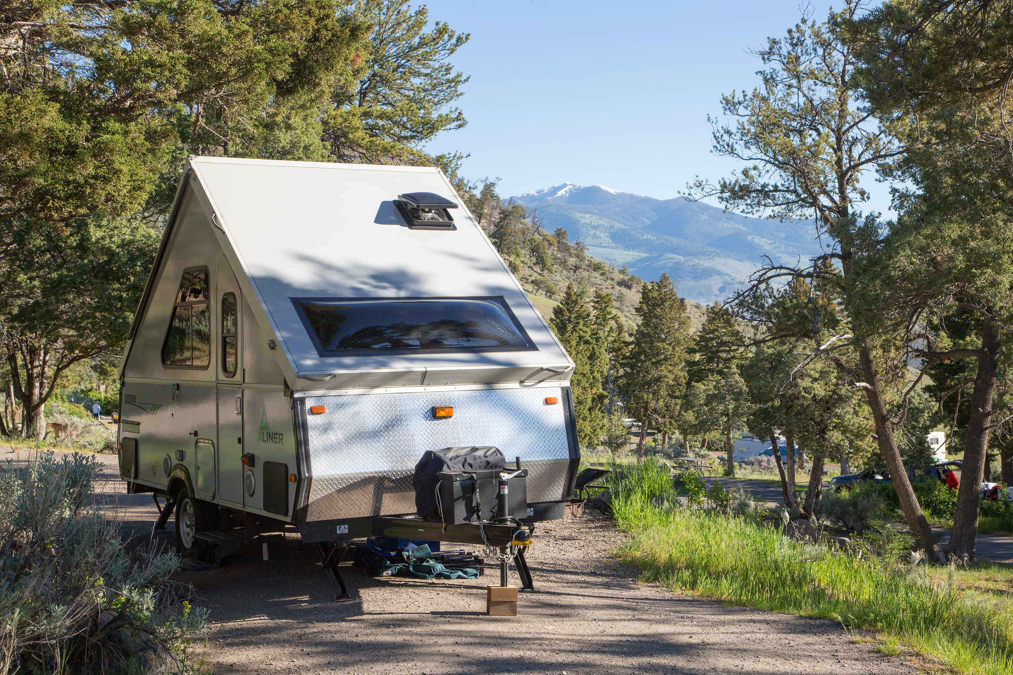 camping part two: yellowstone national park - gardiner, montana