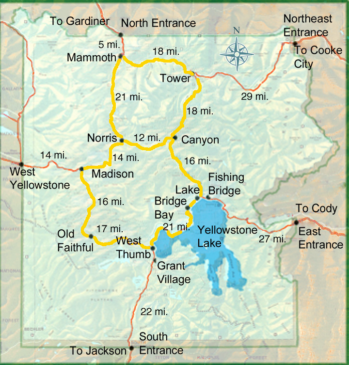 yellowstone map grand loop