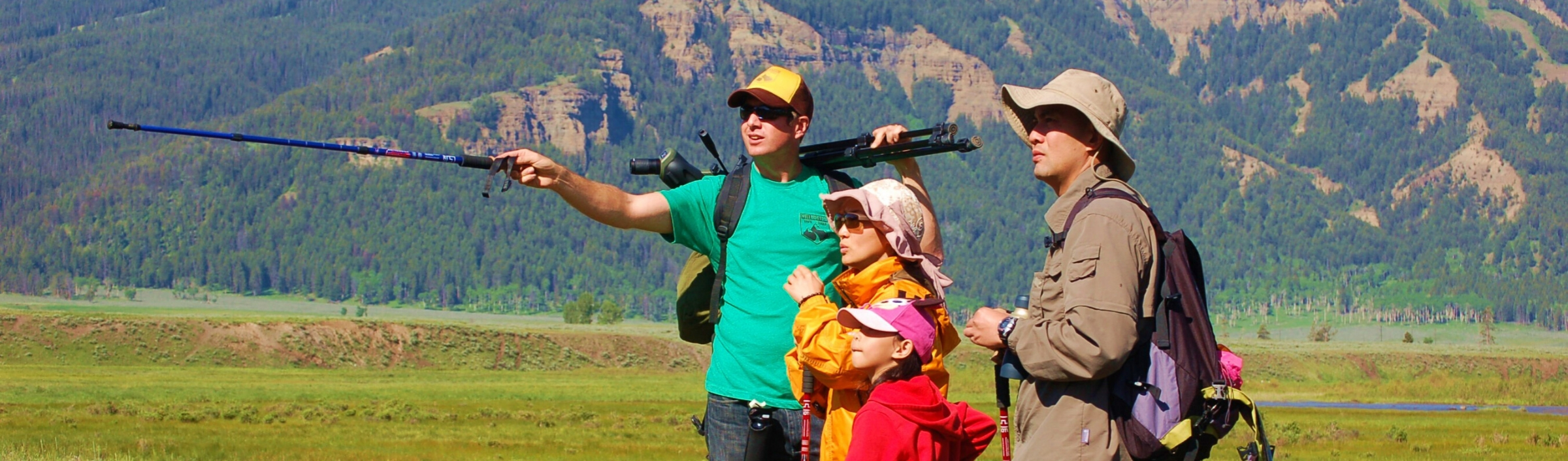 Yellowstone Hiking Guides